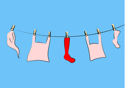 Is a Red Sock Staining the Laundry of Your Life?